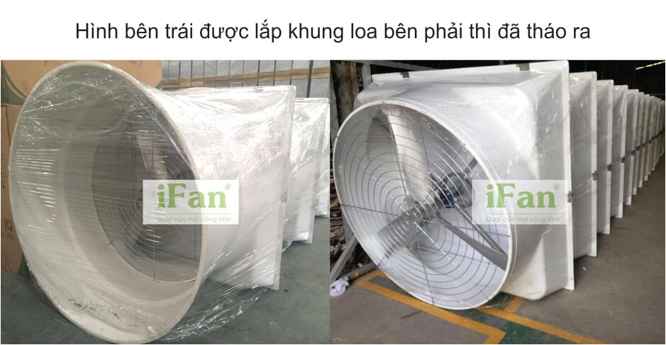Sản xuất quạt thông gió dạng loa SMC
