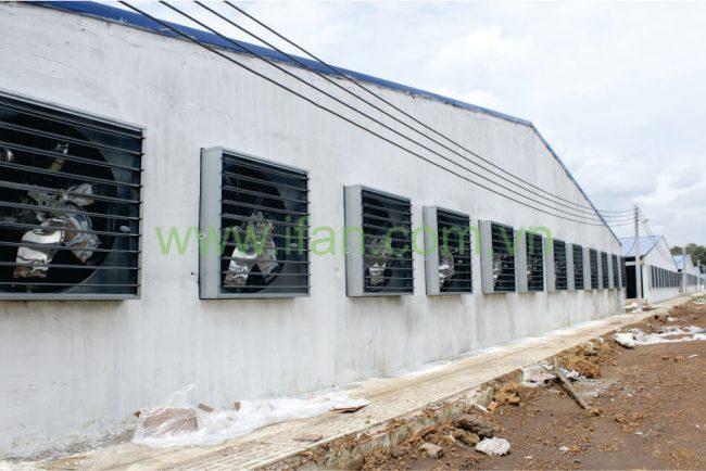 Quạt thông gió iFan-SP sử dụng trong nhà xưởng