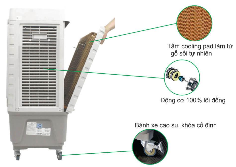 Động cơ máy làm mát iFan-650 điện tử