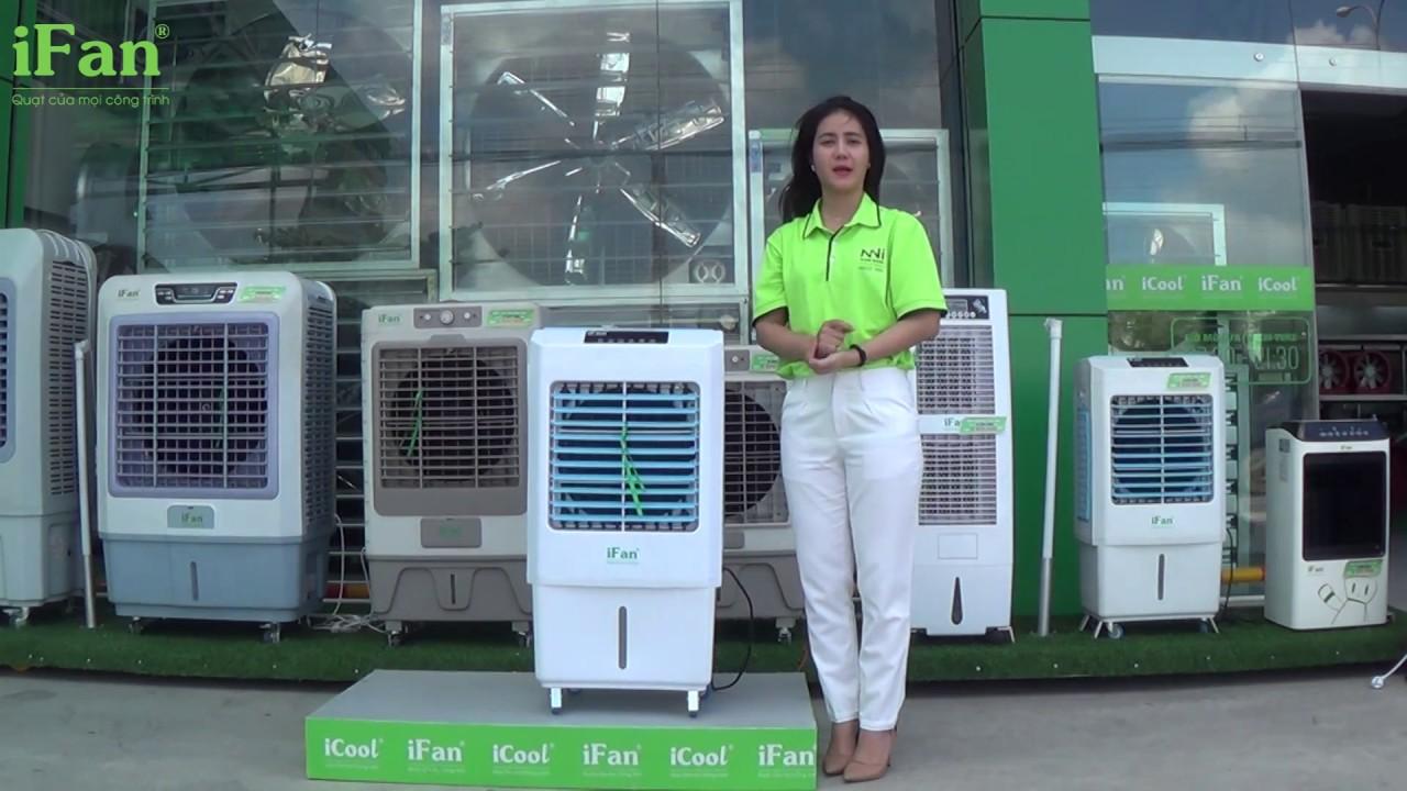 Hướng dẫn sử dụng và vệ sinh máy làm mát iFan-350