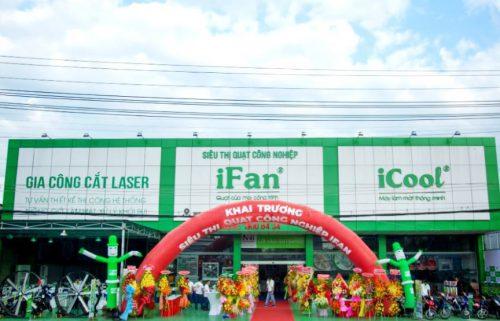 Khai trương siêu thị quạt công nghiệp iFan