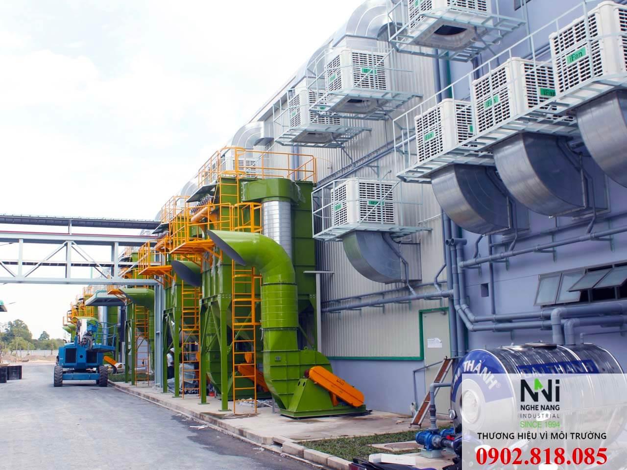 什麽是工業型水簾環保空調?它的應用在降溫系統中