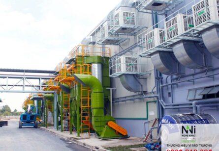 Tư vấn – thiết kế – thi công hệ thống xử lý khói bụi nhà xưởng