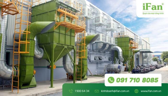 Chuyên cung cấp quạt làm mát công nghiệp cho nhà xưởng