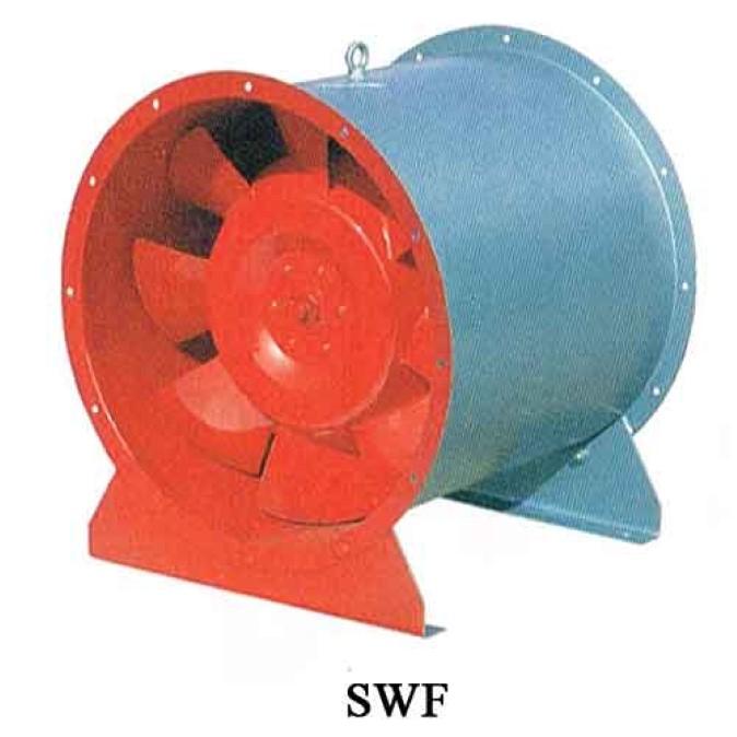 quạt building, quạt PCC, quạt kiểm soát cháy swf