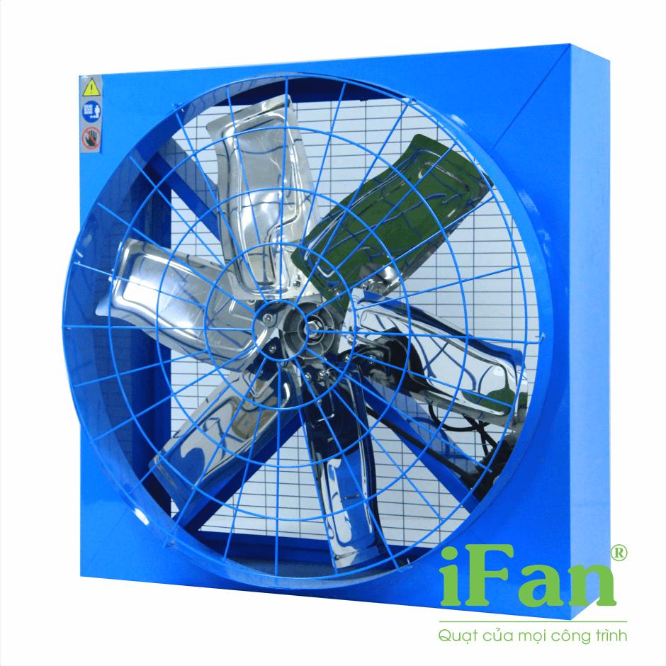 quạt thông gió, quạt vuông, quạt thông gió gián tiếp, quạt hút công nghiệp ifan-E