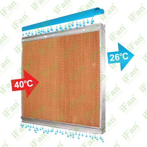 Khung inox màn cooling pad