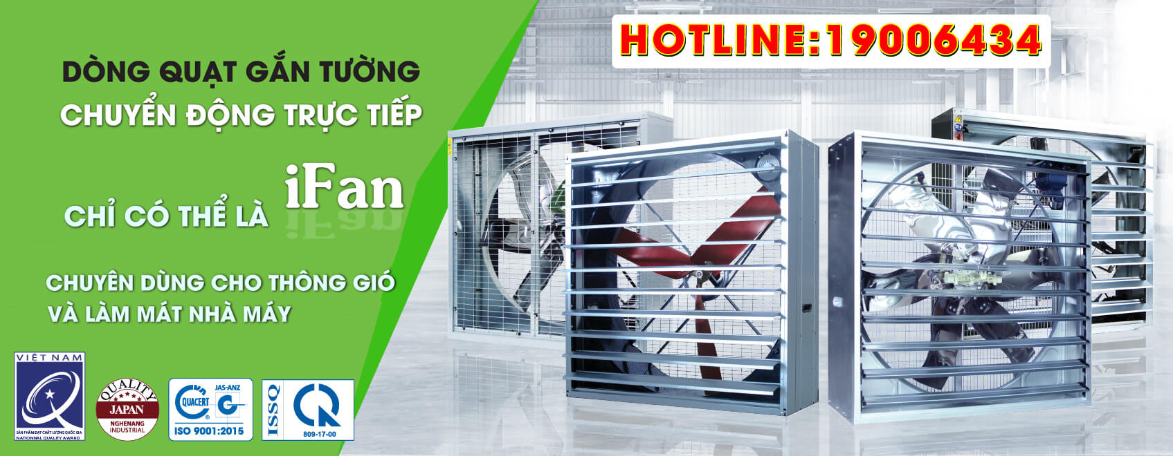 iFan - Industrial Fans - The best price