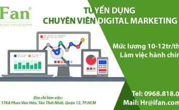 Quạt công nghiệp iFan tuyển dụng chuyên viên Digital Marketing