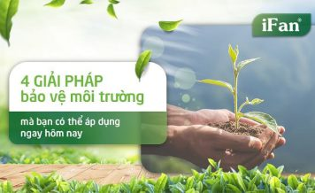4 giải pháp bảo vệ môi trường mà bạn có thể áp dụng ngay hôm nay