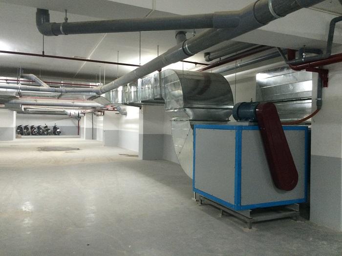 Hệ thống thông gió tòa nhà ifan