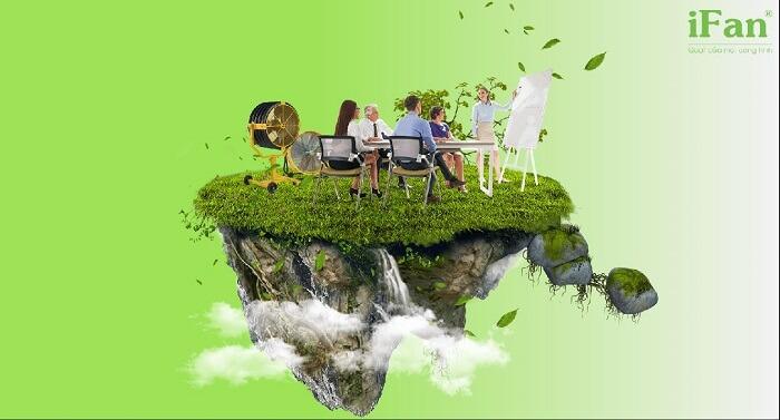 iFan bảo vệ môi trường làm việc bên trong nhà xưởng