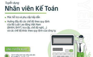 Công ty CP Quạt Việt Nam iFan Tuyển Nhân Viên Kế Toán