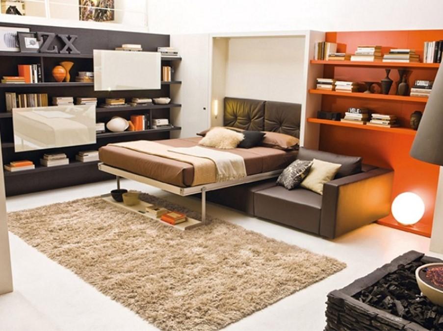 giường kết hợp tủ