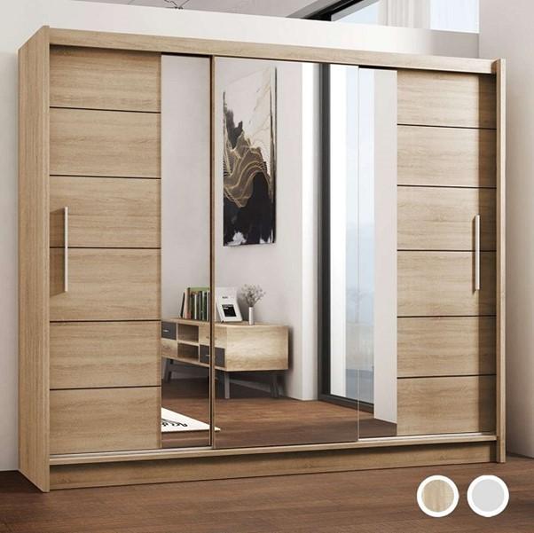 Lắp đặt gương cho hệ thống cửa tủ
