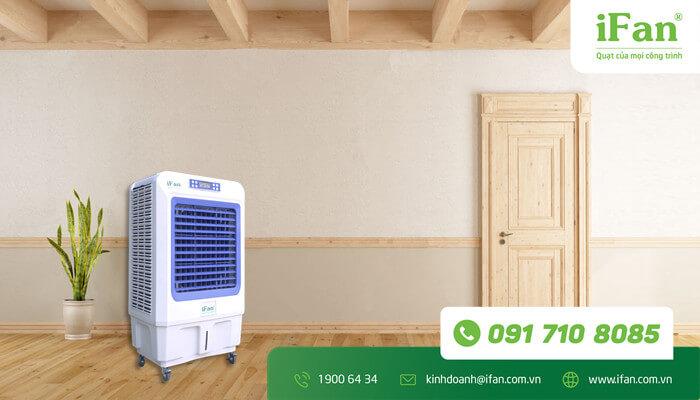 Sử dụng quạt hơi nước là giải pháp vô cùng hữu hiệu để làm mát vào mùa nóng