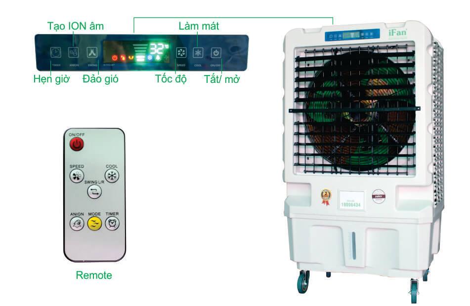 Quạt điều hòa iFan-1600i (có điều khiển)