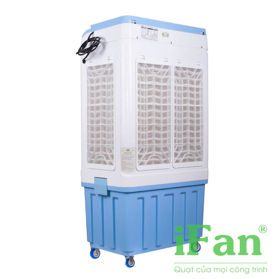 Quạt điều hòa iFan-5000A-Công suất 150w-Mặt nghiêng sau