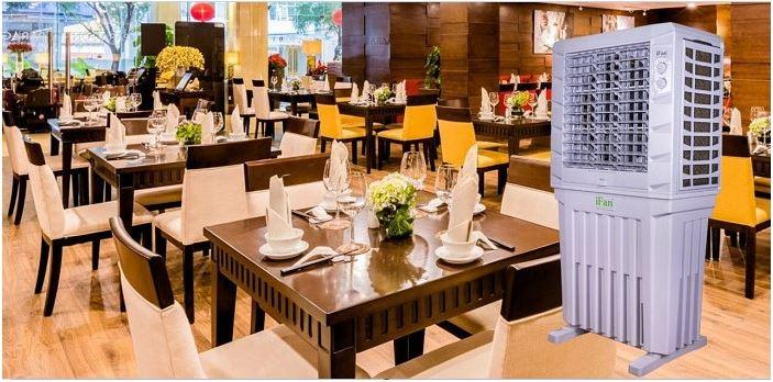 Quạt hơi nước iFan 12000a dùng cho nhà hàng