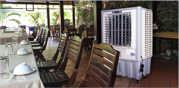 quạt hơi nước iFan 2000i dùng cho nhà hàng