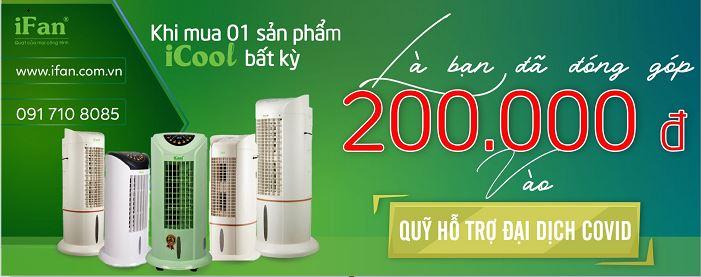 iFan đóng góp 200000 trên một sản phẩm máy làm mát IC được bán ra